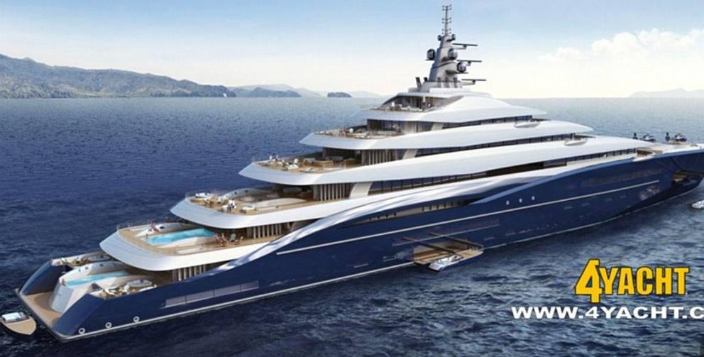 Gli yacht pi lunghi del mondo for Classifica yacht piu grandi del mondo