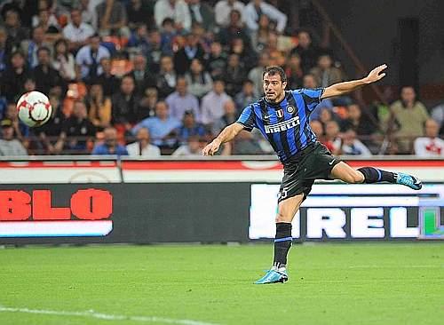 Inter-Udinese: Stankovic porta in vantaggio i nerazzurri (LaPresse)