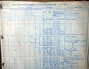 Una pagina di annotazioni meteo della città di Arles (da Le Figaro)