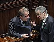 Roberto Maroni e Umberto Bossi (LaPresse)