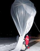 Il secondo lancio dalla base Dirigibile Italia lo scorso 19 gennaio (da Polarnet.Cnr)