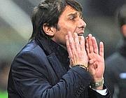 Antonio Conte, allenatore della Juventus (Ansa)