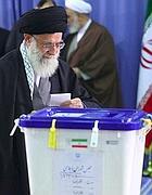 il voto Ali Khamenei (Afp)