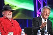Nick Nolte e Dustin Hoffman, protagonisti della fiction (Reuters)