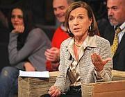 Il ministero del Welfare Elsa Fornero in un recente intervento televisivo (Imagoeconomica)