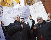 La protesta degli esodati, senza lavoro né pensione (Eidon)