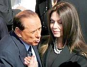 Veronica Lario e Silvio Berlusconi ai tempi della loro unione