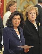 I ministri Severino e Cancellieri (LaPresse)
