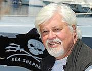 Paul Watson, fondatore e leader di Sea Shepherd (Afp)