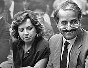 Giovanni Falcone insieme alla moglie Francesca Morvillo (F.Zecchin)
