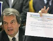 L'ex ministro con delega alla Pubblica Amministrazione Renato Brunetta (Omniroma)