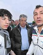 Umberto Bossi e i figli