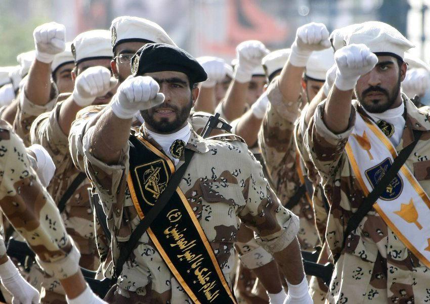 L'armata Qods dei pasdaran