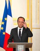 Il Presidente della Repubblica francese Francois Hollande (Afp)