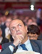 Il segretario del Pdl Angelino Alfano (Ansa/Montani)