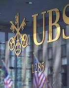 Il logo di Ubs, la banca svizzera che nel 2010 chiuse l'accordo con gli Stati Uniti fornendo il nome di circa 4mila correntisti Usa che avevano 'esterovestito' il proprio patrimonio, sfuggendo alle maglie del fisco