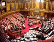 Il Senato (Ansa)