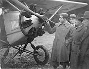 Bartali durante il servizio militare in aviazione