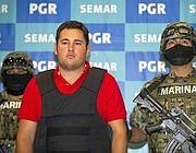 Jesus Alfredo «el gordo», figlio presunto del padrino Guzman, arrestato in Messico (Afp)