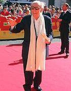 Il commissario della Siae, Gianluigi Rondi, 90 anni (LaPresse)