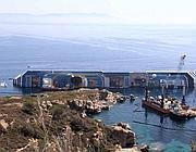 La Costa Concordia naufragata  davanti al Giglio