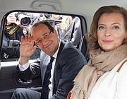 Hollande con la compagna Valerie (Reuters)