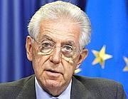 Il premier Mario Monti (Epa)