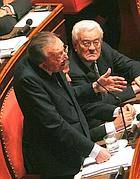 Andreotti al Senato