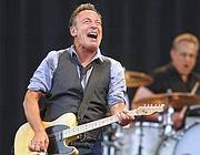 Bruce Springsteen a Boston in un recente concerto del suo tour (Ap)