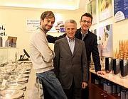Guido Martinetti in uno dei suoi negozi (Fotogramma)