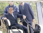 Berlusconi a Villa Certosa (Ap)