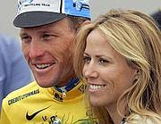 Lance Armstrong e Sheryl Crow (Ansa)
