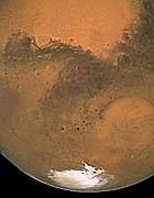 Il polo Sud di Marte (Nasa)