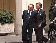 Con Silvio Berlusconi (Imagoeconomica)