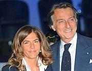 Con Emma Marcegaglia (Afp)