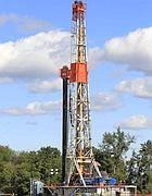 Un pozzo di trivellazione di petrolio (Ap)