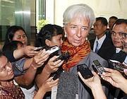 Il direttore del Fondo Monetario Christine Lagarde (Ansa)
