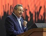 Il presidente cubano Raul Castro (Afp)