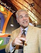 Roberto Formigoni  durante un meeting di Cl (Ansa)