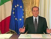 L'ultimo videomessaggio di Silvio Berlusconi, con il suo addio alla politica attiva (Ansa)