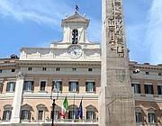 L'entrata di Montecitorio , sede della Camera dei Deputati (Eidon)