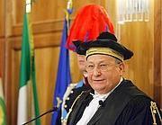 Il presidente della Corte dei Conti Luigi Giampaolino in una foto d'archivio (Ansa)