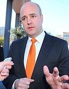 Il premier Fredrik Reinfeldt (Afp)