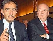 Ignazio La Russa e Sandro Bondi (Imagoeconomica)