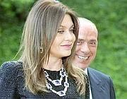 Veronica Lario e Silvio Berlusconi (Epa/Schiavella)