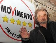 Beppe Grillo (Ansa/Di Marco)