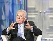 Il presidente del Consiglio dimissionario Mario Monti (Ansa)