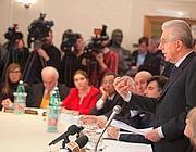 Il presidente del Consiglio dimissionario Mario Monti (Imagoeconomica)