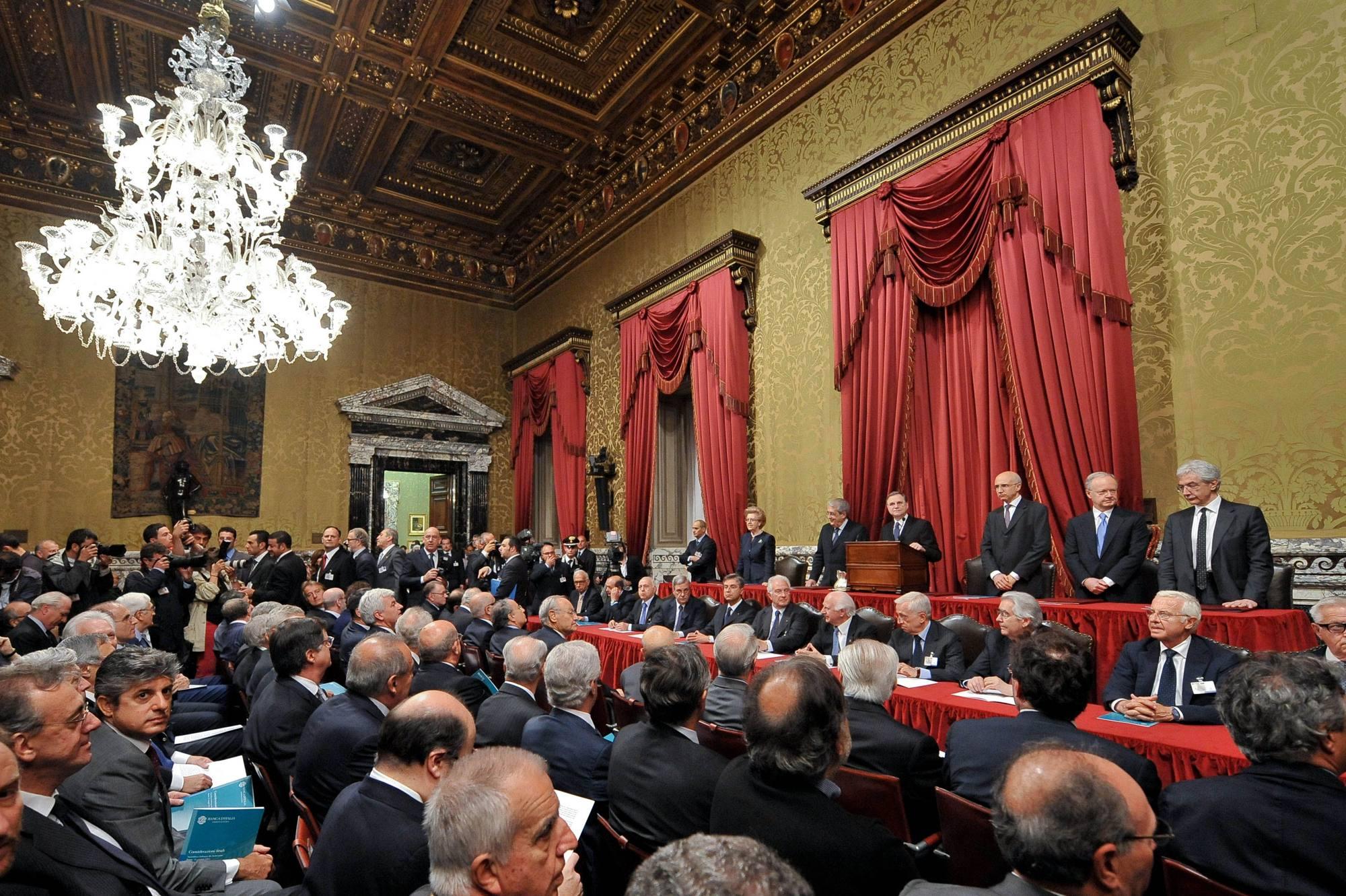 Assembela della Banca d'Italia (Imago)