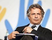 Giuseppe Mussari si � dimesso dalla presidenza dell'Abi (Imagoeconomica)